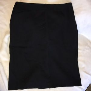 Ann Taylor pencil skirt black size4
